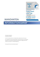 Mandantenbrief September 2021